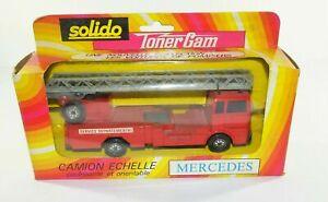 SOLIDO Toner Gam No.361 MERCEDES TRUCK ECHELLE Boxed