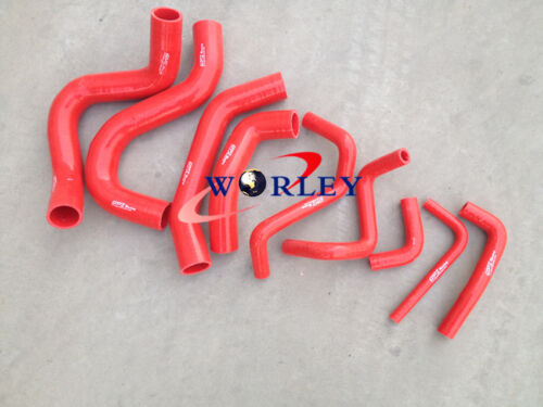 RED Silicone hose for NISSAN Patrol Y60 GQ 2.8L RD28T Turbo Diesel 1994-1997 95
