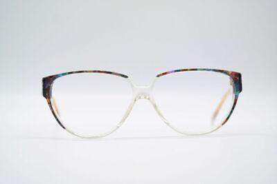 Audace Vintage Arlecchino Venezia 714 C 681 54 [] 12 140 Colorato Trasparente Occhiali Nos- Fabbricazione Abile