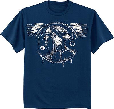 FREE SPIRIT EAGLE DREAMCATCHER DREAM 100/% Cotton Mens /& Womens T-shirt Tshirts