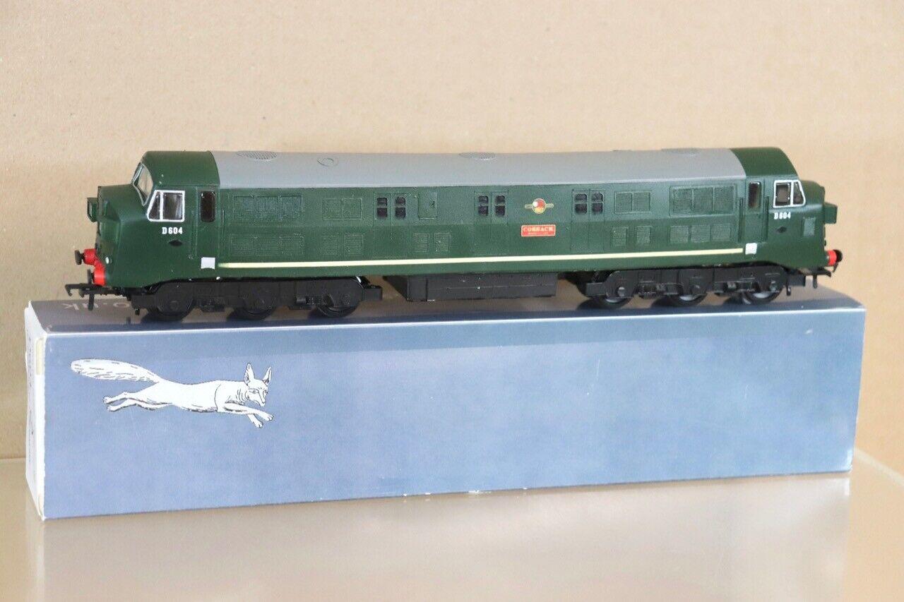 argento FOX modelloS BACHuomoN KIT BUILT BR classe 41 DIESEL LOCOMOTIVE D604 COSSACK