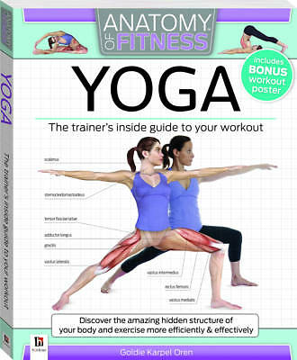 "1 of 1 - ""AS NEW"" Yoga: Anatomy of Fitness, Oren, Goldie Karpen, Book"