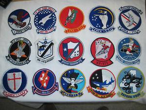 Konvolut-von-Stoffabzeichen-Patches-US-Marine