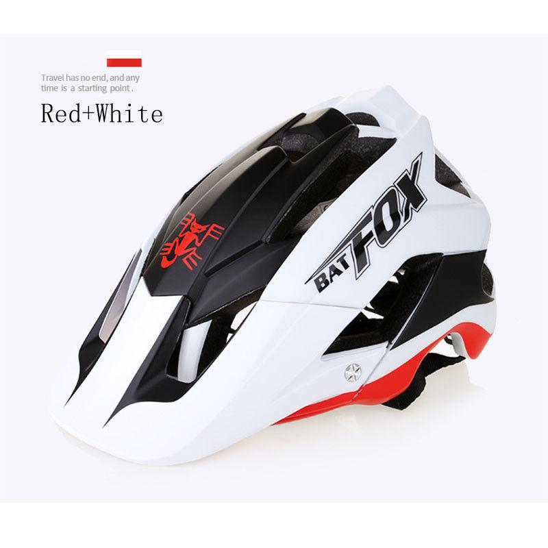 Mountain Bicycle MTB Bike Helmet  Cycling Detachable Visor + Free Helmet Cover  considerate service
