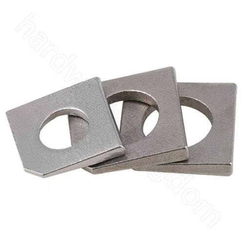 Square Bevel Washers A2 304 Stainless Washer M6 8 10 12 14 16 18 20 22 24 27 30