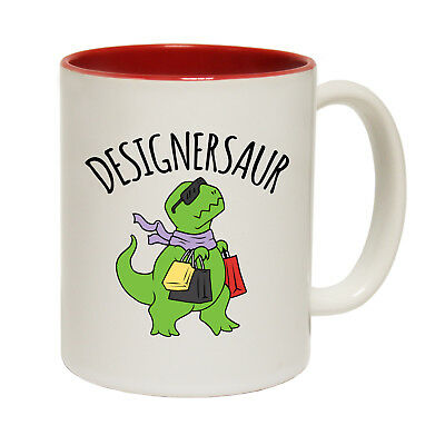Funny Mugs Designersaur Dinosaur Fashion Comedy Sarcasm Christmas Xmas MAGIC MUG