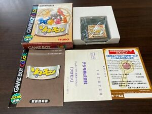 GameBoy Color SOLOMON TECMO with BOX and Manual