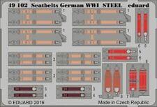 eduard 32879 1//32 Aircraft Seatbelts German Steel WWI Painted