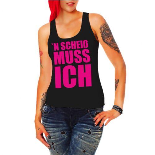 Girls Porteur Shirt /'N conneries je dois Pink sort des Slogans Drôle Slogan Fun Cool