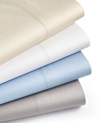 Martha Stewart King Sheet Set Dream Science Cotton Sateen Off White Allergy $200