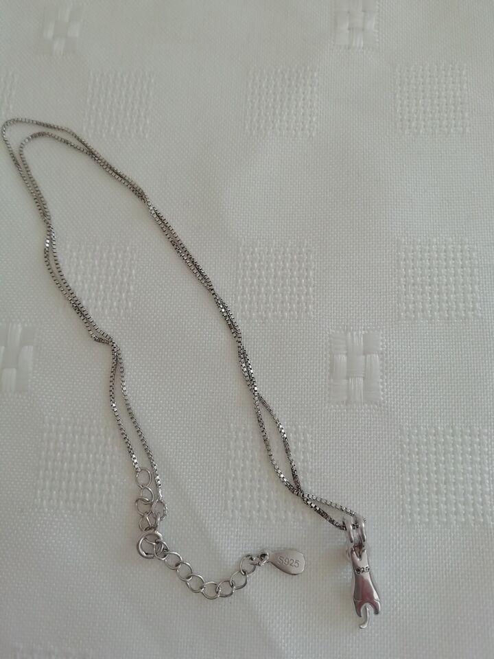 Halskæde, sølv