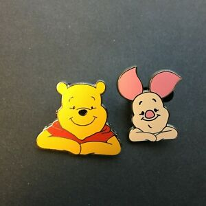 WDW-Cast-Lanyard-Series-3-Winnie-the-Pooh-amp-Piglet-2-Pins-Disney-Pin-32991