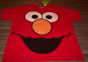 VINTAGE-STYLE-Sesame-Street-ELMO-T-Shirt-LARGE-NEW-w-tag