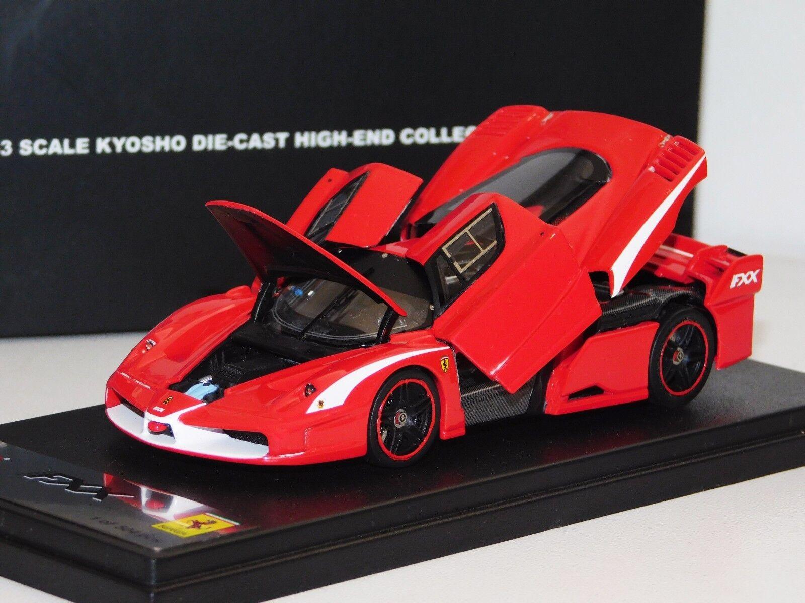 Ferrari Fxx Evoluzione rosso todos apertura Kyosho High End por el Sr. 04211R 1 43