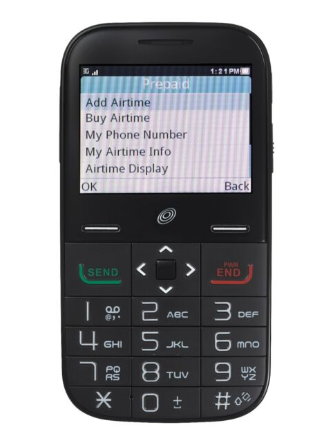 Seller Refurbished Alcatel Big Easy Plus for Tracfone