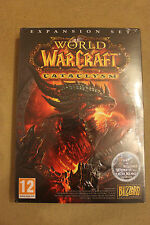 WORLD OF WARCRAFT - CATACLYSM - EXPASION SET - EU WoW