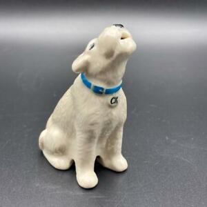 Cath Kidston Stanley The Dog Pie Funnel Vent Porcelain White Terrier Retired