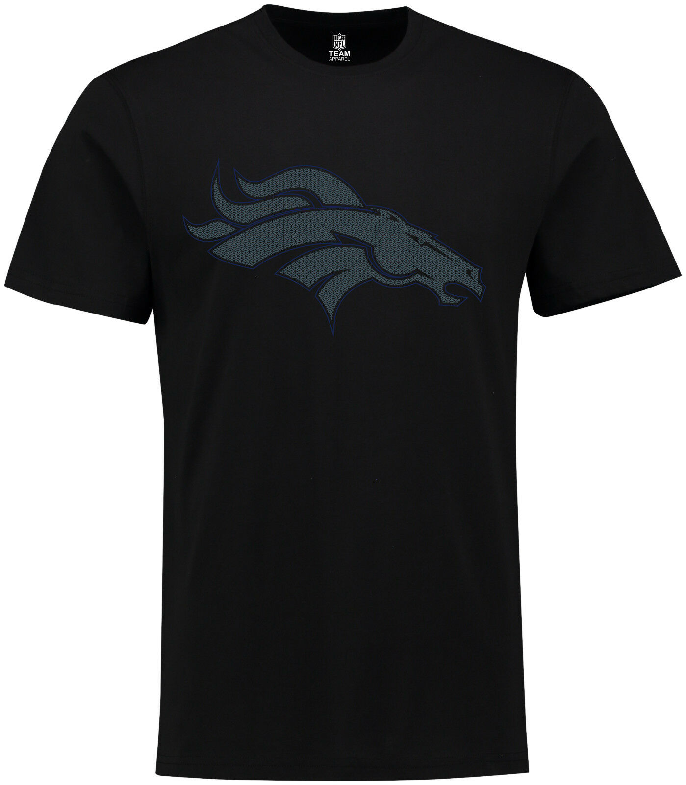 NFL Football T-Shirt T-Shirt T-Shirt Denver Broncos Tanser 2018 von Majestic neu schwarz 6ff3bd