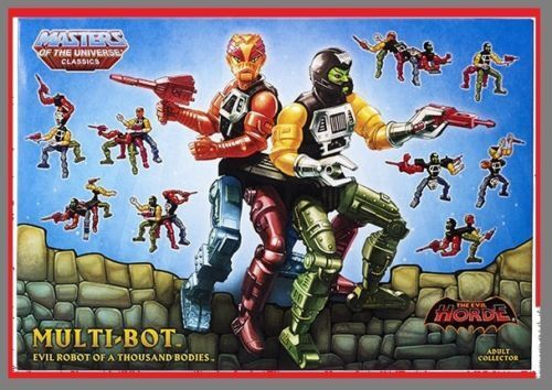 MULTI-BOT Figure Mattel 2015 Club Eternia Exclusive MOTUC MOTU Classics Rare