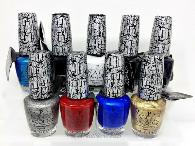 OPI- Discontinued- SHATTER Polish 0.5oz/ 15ml - Pick any Color