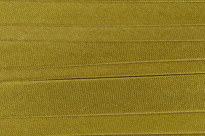 100m Schrägband Polyester-Satin 15mm gefalzt (0,15€/m) - Farbwahl -  Kantenband