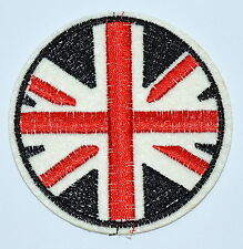 Circus Flags of UK British Embroidered Sew or Iron On patches Shirt Hat Jean