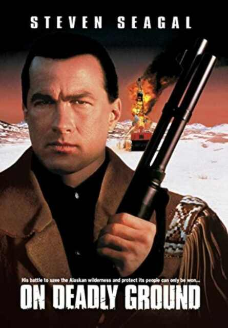 On Deadly Ground (1994) Steven Seagal, Joan Chen, Michael Caine, Steven Seagal