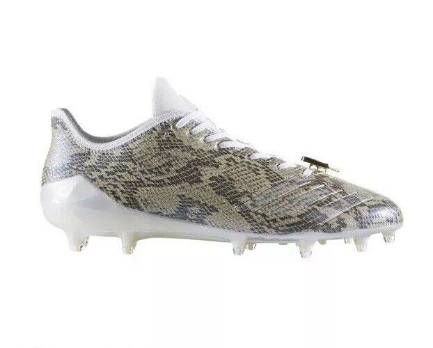 Adidas Adizero 5 Star 6.0 Uncaged Football Cleats BY3790 Men's US 10.5 Snakeskin
