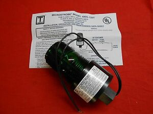 Details about TOMAR ELECTRONICS 490S-120-GREEN MICROSTROBE GREEN SAFETY  LIGHT class 1 div 2