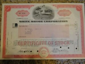 White-Motors-Corporation-Stock-Certificate-200-Shares