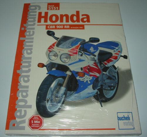 1 von 1 - Reparaturanleitung Honda CBR 900 RR SC28 ab Baujahr 1992 Reparatur Handbuch NEU!