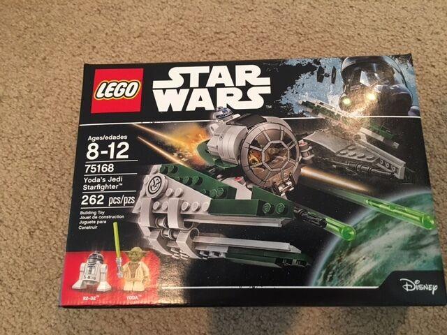 Lego Lego Lego Yoda's Jedi Starfighter Set - 75168 - NEW in BOX 706add