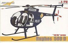 Profiline 1/72 Hughes 500D Tall Ski Version # 7010
