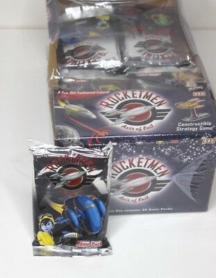 Rocketmen ~ Axis of Evil Game Pack Constructible Strategy Game ~ 1 pack *RARE*