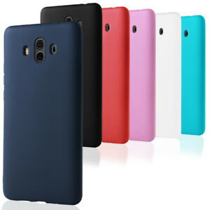 Bumper-Coque-pour-Huawei-Mate-10-Pro-lite-Etui-Couverture-Mat-Protection-Gomma