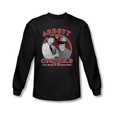 Abbott /& Costello Hey Abbott Youth Long Sleeve T Shirt