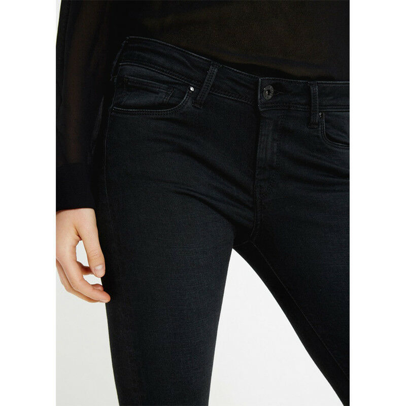 Jeans donna Pepe Jeans LOLA PL201073H928 skinny fit nero nero nero pantalone 26 29 31 c2d22f