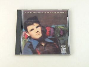 CHET-BAKER-ONCE-UPON-A-SUMMERTINE-CD-ORIGINAL-JAZZ-CLASSICS-U-S-A-1984-EX-EX