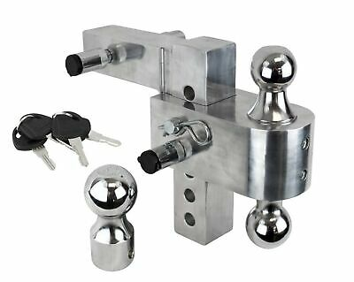 Uriah Products UT205810 Heavy Duty Chrome Plated Locking Hitch Pin