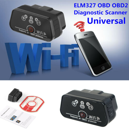 Android KW901 ELM327 OBDII WiFi//BT Car SUV Diagnostic Scanner Tools For iPhone
