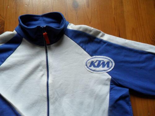 genuine tagged ^ KTM Fleece size medium Sections Light Sweatjacket