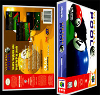 Virtual Pool 64 - N64 Reproduction Art Case/box No Game.