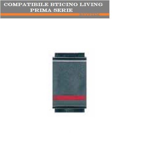 DEVIATORE LUMINOSO ARC COMPATIBILE BTICINO LIVING CLASSIC 4503LE