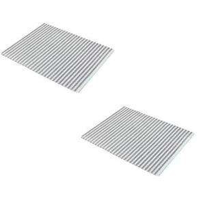 neu dunstabzugshaube fett filter mit s ttigung indikator x 2 f r homark ebay. Black Bedroom Furniture Sets. Home Design Ideas