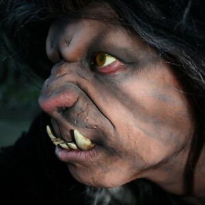 werewolf nose prosthetic for fancydress lrp larp ebay