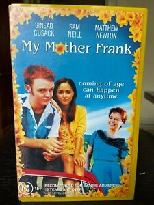 My-Mother-Frank-Ex-rental-VHS-video-tape-Australian-Rose-Byrne-Newton-Cusack-HTF