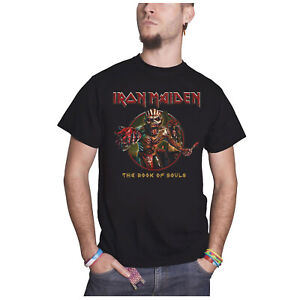 Adult Men's Official IRON MAIDEN Book Of Souls Album Crew Neck Shirt S M L XL 2X