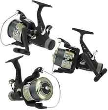 3 x LINEAEFFE FREE CARP 60 3BB CARP RUNNER FISHING REELS WITH 15LB LINE