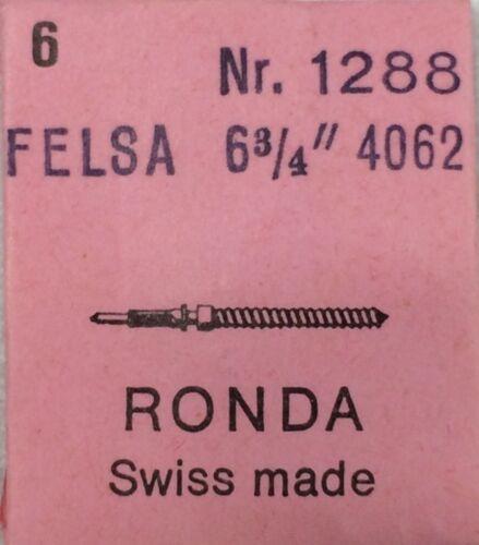"""1288 Winding Stem Tija Tige NOS New Felsa 4062 6"""" 3//4 RND 1x = 1 Stem"""