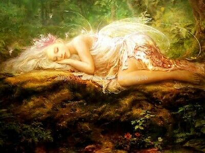 FAIRY FALLS FANTASY ART POSTER 24x36 SHRINK WRAPPED NATURE 1372